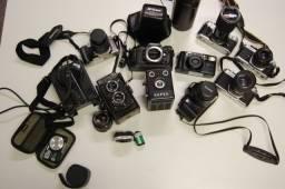 Maquinas fotográficas antigas - coleção