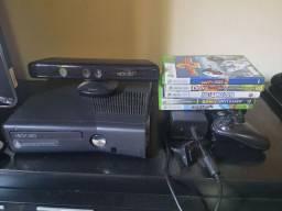 Xbox 360 com Kinect + Jogos