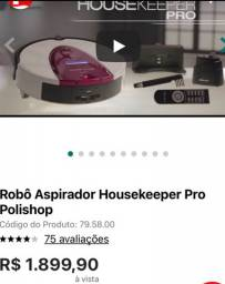 Robô Aspirador housekeeper pro-Polishop