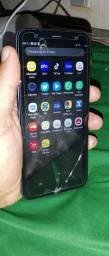 Samsung J6 Plus 32gb Trincado não pega câmera e só escuta no viva voz ou fone de ouvido.
