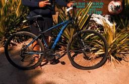 Bike muito nova com TDS os acessórios da Shimano