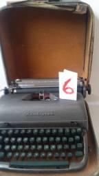Maquina de Escrever Remington N.6 com Case