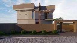 Casa em fase de construção no cobiçado bairro do Cônego