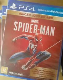 Spiderman edição jogo do ano com todas as dlcs