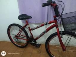 Bicicleta aro 26 Condor Bike 18 marchas folha aero cubo roletado Praticamente Nova