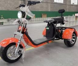 Triciclo elétrico 2000W Bateria 20Ah removível