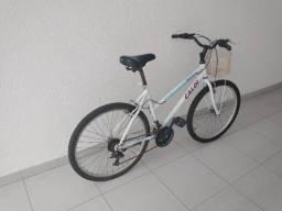 Bicicleta feminina Caloi Ventura aro 26 21 marchas