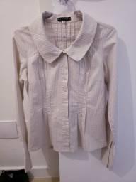 Camisa listras Le Lis Blanc tam P