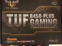 Placa mãe Asus B450 Plus tuf gaming