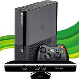 Desapego xbox 360 500gb com kinect 5 jogos