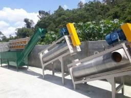 Fabricação de máquinas recicláveis