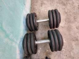 Dumbel 68 kg 34 kg cada