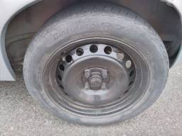 Troco jogo roda 15 com pneus por todas 13 com pneus