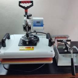 prensa térmica 8 em 1 sublimação<br><br>220v