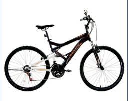 Bicicleta Houston Stinger, Aro 26, 21 Marchas, Quadro Aço Carbono NOVA NA CAIXA