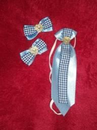 Kit gravata e laços para Machos!