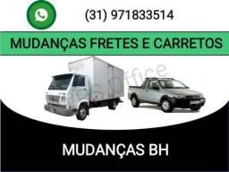 Mudanças fretes interestaduais ótimos preços Brasil todo z.a.p