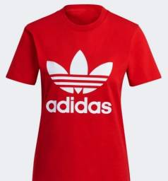 Camisa Adidas FEM Baby look original NOVA