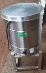 Fritadeira com suporte em Inox
