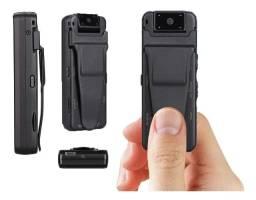 Mini Câmera Espiã Policial Wifi Ip 1080p