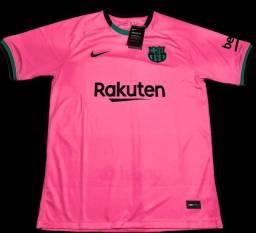 Camisa Barcelona tamanho G