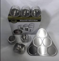 Porta Condimentos Magnético- Spice Rack c/6