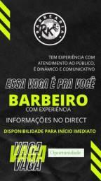 VAGA DE BARBEIRO NA REGIÃO DO SÍTIO CERCADO