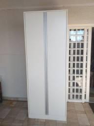 Armário escritório MDF 2 portas e 4 prateleiras