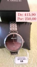 Relógio Séculus  feminino novo na caixa