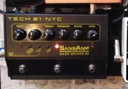 Pedal Sansamp Programmable Bass Driver Di