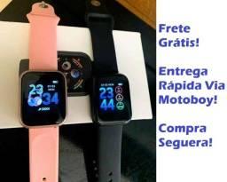 Relógio Smartwatch ThinFit W8 Android e Ios com 2 Pulseiras - Frete Grátis!