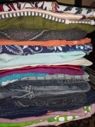 Lote 40 pçs roupas p/ brecho ou interior