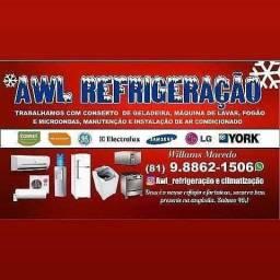 Recife assistência técnica de refrigeração