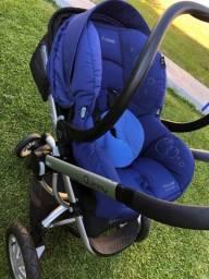 Carrinho de bebê importado Quinny Buzz + Bebê Conforto Maxi Cosi