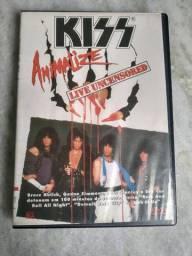 DVD Kiss - Animalize - Live Uncensored - Original