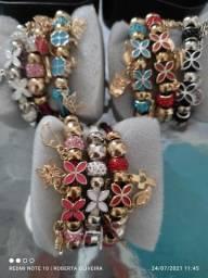 Kit com 10 pulseiras