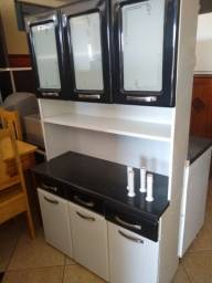 Armário de cozinha aço semi novo.