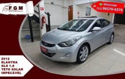 Hyundai Elantra 1.8 Gls 16v Gasolina 4p Automático 2012