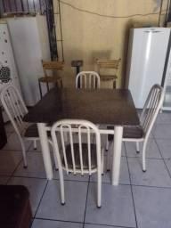 Posso entrega mesa de granito 4 cadeiras