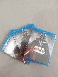 Blu Ray Star Wars Saga completa
