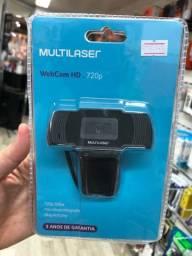 Web Cam Multilaser Hd 720p 3 Anos De Garantia
