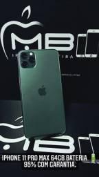 iPhone 11 Pro Max 64GB (não é de vitrine recondicionado)