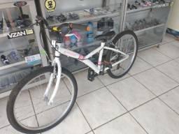 Bicicleta aro 24 média usada revisada