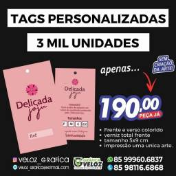 3 Mil Tags Personalizados