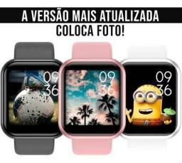 Smartwatch - mais vendido c/ foto na tela e notificações redes sociais - Modelo y68