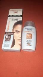Protetor Solar facial Isdin Fusion Water FPS60