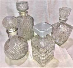 Garrafas Licor / Whisky Retro / Vintage