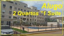 (Locação) Apartamento MRV 2 Quartos sendo 1 suite, MRV, Andar Baixo