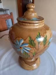 Vaso decorado