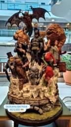 Diorama Batman e vilões